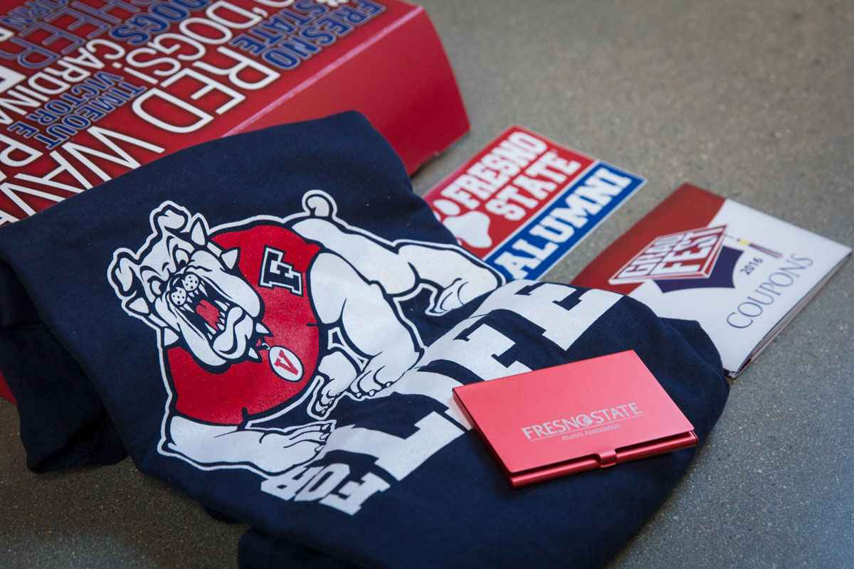 Fresno State Grad Box Custom College Student and Alumni Gift Package